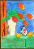 Rote Tulpen nach August Macke_10