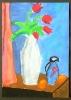 Rote Tulpen nach August Macke_3