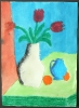 Rote Tulpen nach August Macke_7