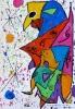 Der singende Fisch (nach Miró), Klasse 6d