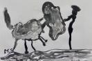 Pablo Picasso: Don Quichotte und Stierkampfszenen 6b